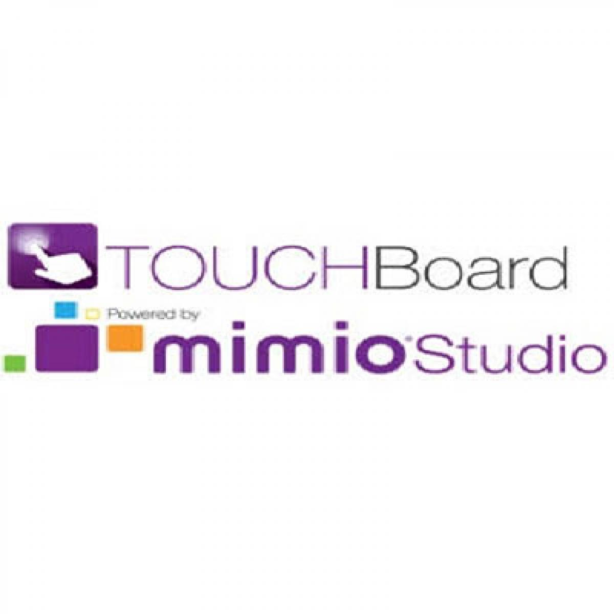TouchBoard Powered by MimioStudio